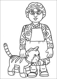 Disegni da colorare per bambini. Colorare e stampa Sam il pompiere 16