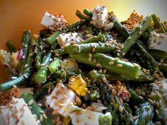 Asparagus, Green Beans, Feta, Vegetables, Studs, Vegetable Recipes, Veggies
