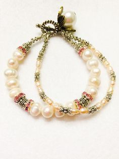 A personal favorite from my Etsy shop https://www.etsy.com/listing/261889262/genuine-freshwater-pearl-and-crystal-2