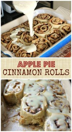 Apple Pie Cinnamon Rolls                                                                                                                                                                                 More