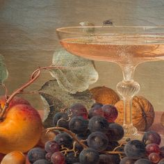 Right now, this fly, perched on the rim of a glass of rosé, is our spirit insect. Ok, we may be ribbing the interwebs just a little bit but, seriously, it's gorgeous out and Memorial Day weekend is just about to get underway! | Image info: detail of a still life painting by Johann Wilhelm Preyer that we happily happened upon at the @mfaboston.