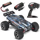 Traxxas 1/16 E-Revo Brushed 4WD RTR RC Monster Truck w/ID & Quick Charger SILVER E Revo, Rc Trucks For Sale, Monster Trucks, Silver, Ebay, Money