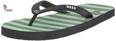 Reef Grom Switchfoot Print, Flip-Flop Garçon, Noir (Green/Black), 28/29 EU - Chaussures reef (*Partner-Link)