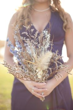 Bouquet of dried flowers, $27
