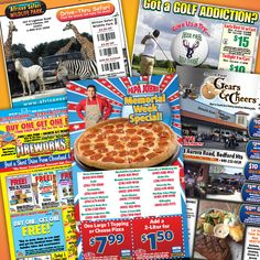 Celebrate July 4th Week with COUPONS for Pizza, Fireworks, Wildlife Park, Golf, Outdoor Dining & Live Entertainment! Look inside your MaxValues magazine today for these and many more great offers.