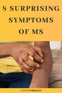 These symptoms of #MS may be a surprise to you.