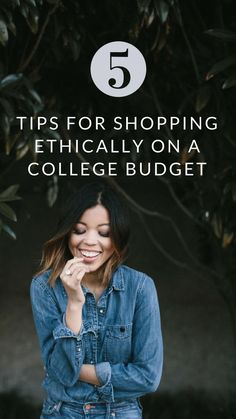 5 Tips For Creating A Sustainable & Ethical Wardrobe On A College Budget | In between class, work, and extracurricular activities it can be challenging to find time to sit down and research where your clothes are made.