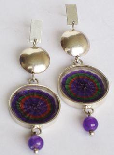 aros de crin Bohemian Jewelry, Coin Purse, Pendant Necklace, Drop Earrings, Pearls, Wallet, Felted Jewelry, Inspirational Jewelry, Stud Earrings