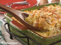 Unforgettable Chicken Casserole | mrfood.com