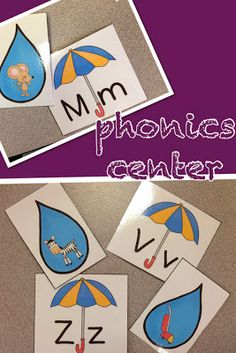 Sharing Kindergarten: FUN phonics station for the letter Uu