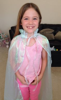 Elsa Cape Inspired by Disney's #Frozen