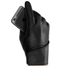 Leather Touchscreen Gloves, winter gloves for touch screens e. iPhone and Galaxy by Mujjo Mens Gloves, Leather Gloves, Leather Men, Cold Weather Gloves, Cold Weather Outfits, Mitten Gloves, Mittens, Cool Outfits, Brand New