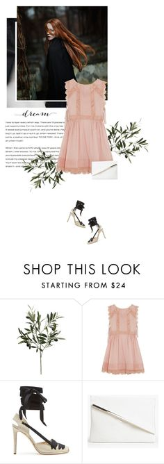 """""""Runaways"""" by duciaxoxo ❤ liked on Polyvore featuring DKNY, RED Valentino, Boohoo, soft, feminine, springfashion and spring2016"""
