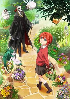 [NEW ANIME] The Ancient Magus Bride TV Anime announced for Fall 2017 - http://sgcafe.com/2017/03/new-anime-ancient-magus-bride-tv-anime-announced-fall-2017/