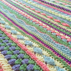 One of the first blankets I made I'm now starting a new bigger brighter version as requested by Dot 2 to take to Uni in September #dot2uniblanket #crochetblanket #crochet #aswegostripeyblanket #aswegostripeyblanket #stylecraftspecialdk #homemade by dotty.bo