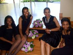 Designs by Delissa - young ladies involved in our mentoring program