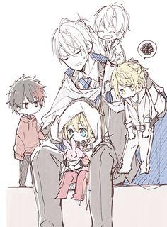 Twitter Manga Games, Touken Ranbu, Game Art, Anime Guys, Anime Characters, Chibi, Kawaii, Animation, Drawings