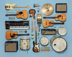 By Jim Golden The composition it uses is leading lines. The lighting they have used is from above to give a clear view of all the instruments. I like this picture as it is clearly showing order which links to the title.