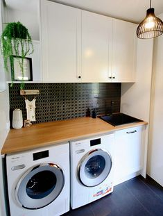 Modern Laundry Rooms, Laundry Room Layouts, Laundry Room Remodel, Laundry Room Bathroom, Laundry Room Organization, Laundry Decor, Laundry Room Design, Diy Storage Cabinets, Laundry Room Inspiration