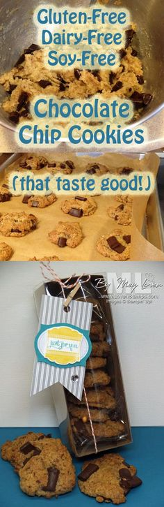 Gluten Free, Dairy Free, Soy Free Chocolate Chip Cookie Recipe that TASTES GOOD!
