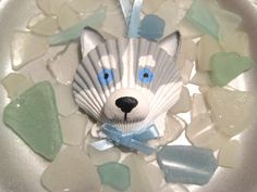 Husky Ornament by Lorishellart on Etsy, $8.00