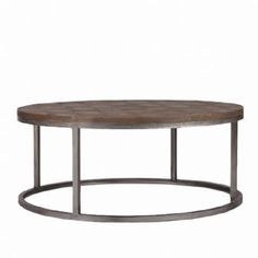 Round Coffee Table West Elm | Colby Coffee Table, Recycled Elm U0026 Metal  Round Coffee
