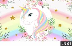 Unicorn Birthday Invitations, Unicorn Birthday Parties, Unicorn Party, Birthday Party Decorations, Unicorn Images, Unicorn Pictures, Aniversario Peppa Pig, Unicorn Backgrounds, Unicorn Illustration