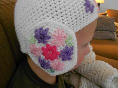 I got a little bored working on an afghan over the weekend so I decided to crochet a new hat for Evie, my granddaughter who lives in England. Evie, Weekend Is Over, Crochet Hats, Children, Boys, Kids, Big Kids, Children's Comics, Sons