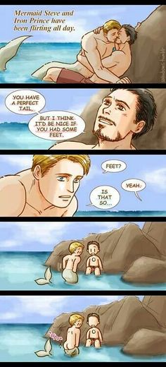 Mermaid Steve and the Iron Prince. Part 2.