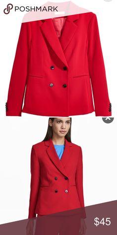 Blazer H&M double buttoned blazer. Never used. H&M Jackets & Coats Blazers