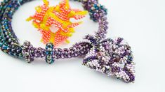 USED MATERIALS: Czech beads nr.10, nr.9
