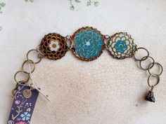 Tin Jewerly Bracelet Electric Mums Tin for the Ten by TheMadCutter, $32.00