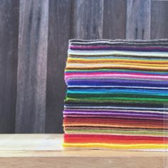 '102 colour bundle' - 100% Merino Wool Felt For when you just can't decide...