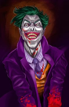 Crazy Joker!!! a piece I've made for fun!! hope you like it. More work on my behance too https://www.behance.net/tolomuco