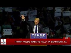 FULL Speech: Donald Trump Holds MASSIVE Rally in Beaumont, TX (11-14-15)