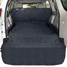 Veckle Cargo Liner, Large SUV Cargo Liner for Dogs Waterproof Dog Seat Cover SUV Cargo Cover Nonslip Mat Scratchproof Pet Cargo Protector for SUVs Sedans Vans Small Dog House, Small Dogs, Large Suv, Dog Seat Covers, Best Dog Toys, Dog Car Seats, Dog Carrier, Dog Accessories, Sedans
