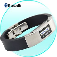 L091  Vibrating Bluetooth Bracelet Wristband with Caller ID