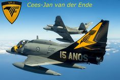 A-4 Skyhawk, VF-1 Squadron Brazilian navy, By Cees-Jan van der Ende