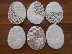 Iced Cookies, Easter Cookies, Cookie Designs, Confectionery, Cookie Decorating, Gingerbread Cookies, Needlepoint, Easter Eggs, Biscuits