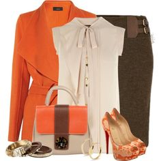 Candy Corn, created by pinkroseten on Polyvore