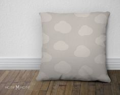 Pillow Clouds Throw Pillow from Let's Go Fly a by MotifMotifShop #throwpillow #moderndecor #nursery