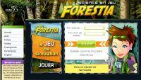 Forestia, jeu de simulation et de stratégie, se déroule dans une forêt virtuelle qu'il faut gérer en faisant rouler l'économie, en protégeant la biodiversité et en tenant compte des besoins de ses multiples usagers : chasseurs, pêcheurs, randonneurs…
