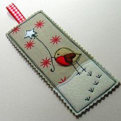 little robin bookmark by little singing bird | notonthehighstreet.com