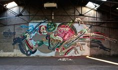 Nychos offers his take on TMNT. Paris, 2013