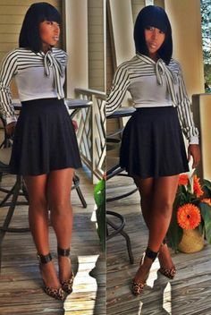 The skirt is too short for my age.but the outfit is gorgeous. I Love Fashion, Passion For Fashion, Autumn Fashion, Fashion Looks, Womens Fashion, Fashion Trends, Summer Outfits, Casual Outfits, Cute Outfits