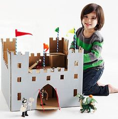 Brinquedos caixa de papelão