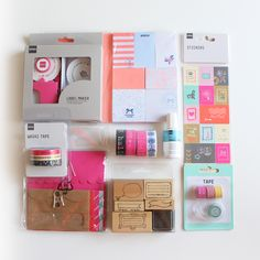 hema haul | schreibwaren | stationery | filofax | planner stuff | washi tape | sticky notes | stamps stempel | cute