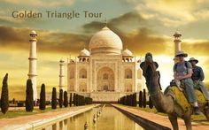 Golden triangle Tours in India which includes the most popular tourist destinations of India Delhi, Agra and Jaipur