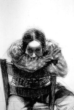 Lorraine Shemesh self portrait