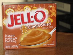Jell-O Gingerbread Instant Pudding